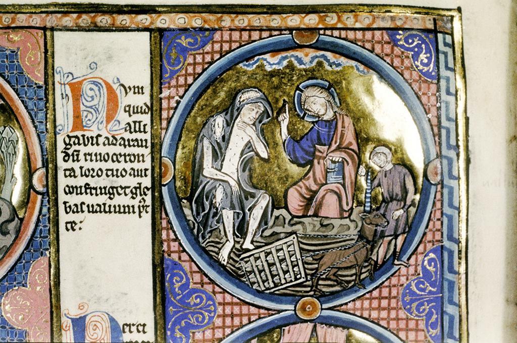 Bible moralisée, part I. Farming Unicorn